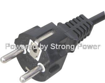 European VDE CEE 7/7 EN50075 power cord