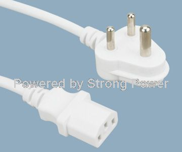 South_Africa_SABS_standards_power_cord_XNF_16_to_ST3_C13