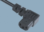 IEC 60320 Connector power cord C13 ST3W