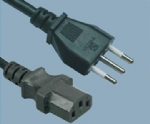 Italy IMQ Y008 to C13 power cord